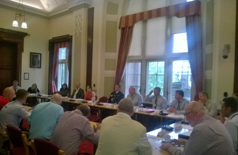 Scrutiny at Walsall Council